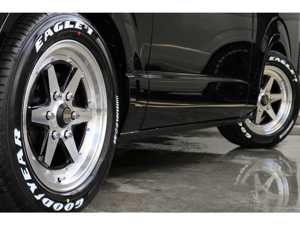 新品XR-6 16インチAW/新品グッドイヤーイーグルワンナスカー 16インチタイヤ 装着済です!
