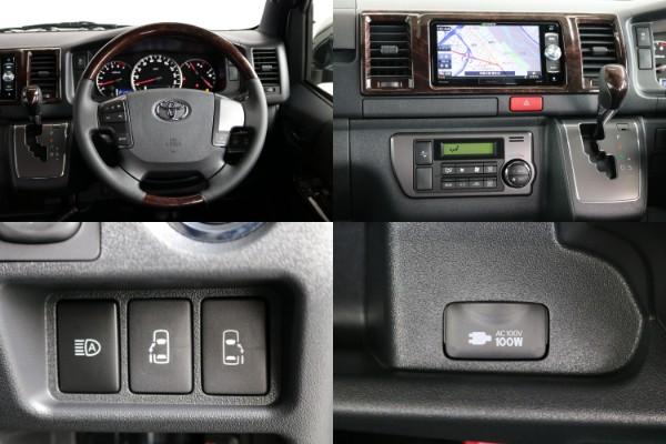 両側自動ドア&コンセント&自動ブレーキ付き!! | トヨタ ハイエースバン 2.8 スーパーGL 50TH アニバーサリー リミテッド ロングボディ ディーゼルターボ 50TH (4X7)