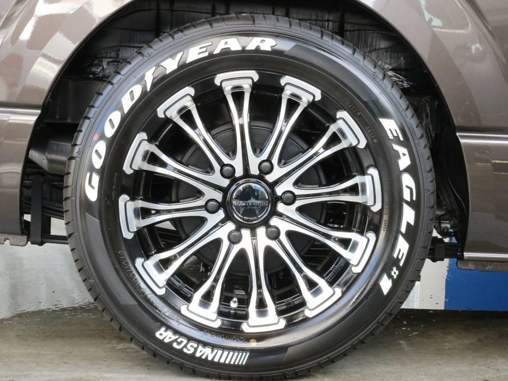 ナスカータイヤ!! | トヨタ ハイエースバン 2.8 スーパーGL 50TH アニバーサリー リミテッド ロングボディ ディーゼルターボ 50TH (4X7)