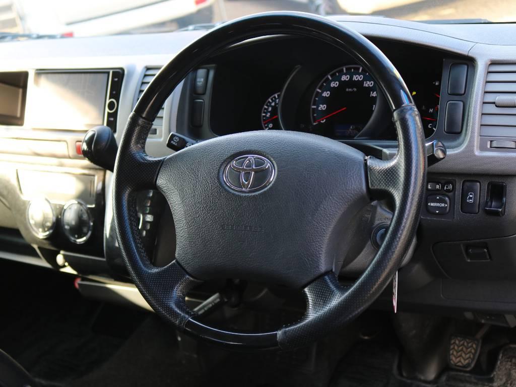 コンビハンドルです!! | トヨタ ハイエース 2.7 GL ロング ミドルルーフ ワゴンGL