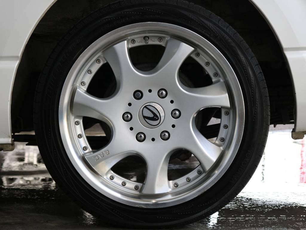 EAC19インチアルミホイール!! | トヨタ ハイエース 2.7 GL ロング ミドルルーフ ワゴンGL