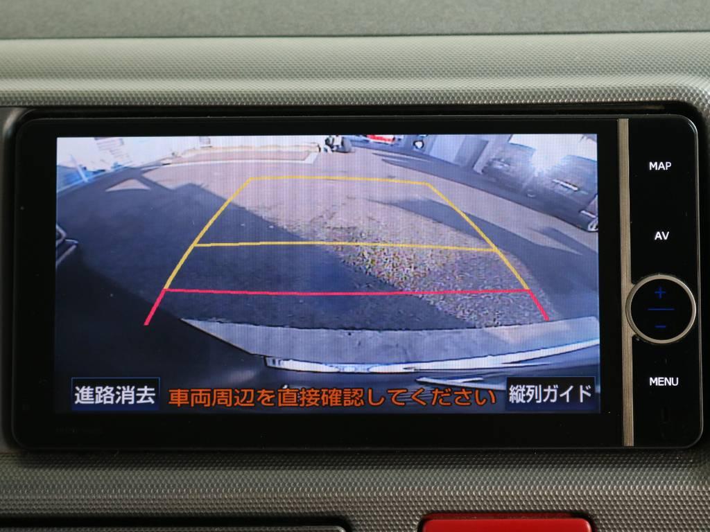 バックガイドモニター付いてますので車庫入れも安心です!! | トヨタ ハイエース 2.7 GL ロング ミドルルーフ ワゴンGL