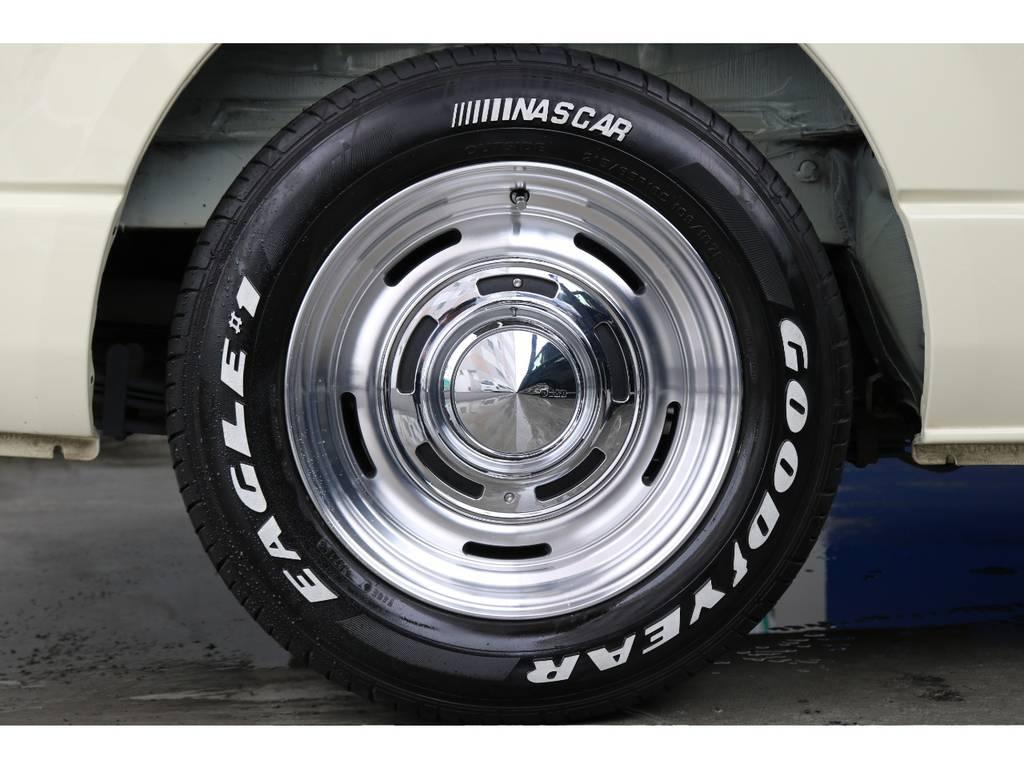 ディーンクロスカントリー16インチAW/グッドイヤーイーグルナスカー16インチタイヤ