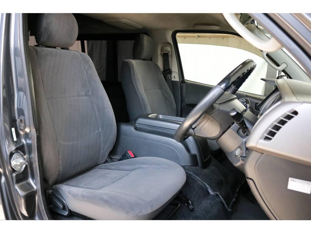 運転席側のドアを開けたところです。運転するイメージが膨らみます!! | トヨタ レジアスエース 2.0 スーパーGL ロングボディ 下取り直販プライス