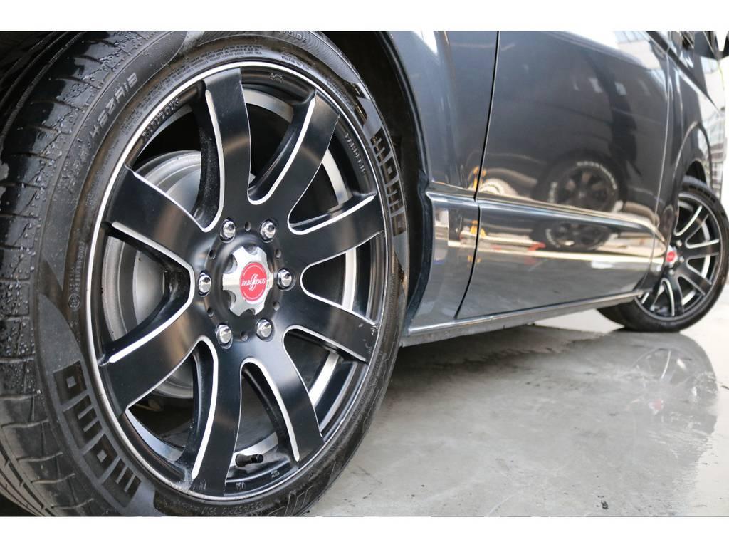お好きなタイヤに交換も可能です!お気軽にご相談ください。 | トヨタ レジアスエース 2.0 スーパーGL ロングボディ 下取り直販プライス