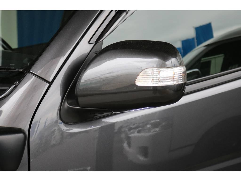ウィンカーミラー付き!! | トヨタ ハイエースバン 3.0 スーパーGL ダークプライム ロングボディ ディーゼルターボ 4WD ナビ・ETC・Bカメラ付