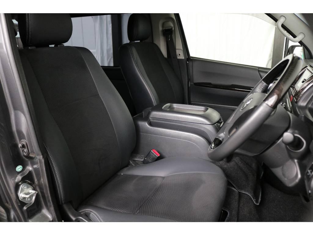 運転席開口部です!! | トヨタ ハイエースバン 3.0 スーパーGL ダークプライム ロングボディ ディーゼルターボ 4WD ナビ・ETC・Bカメラ付