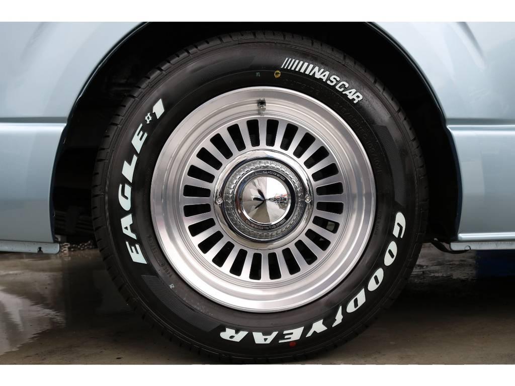 DEANカリフォルニア16インチAW/グッドイヤーナスカー16インチタイヤ お好みのタイヤへのカスタムもご相談ください