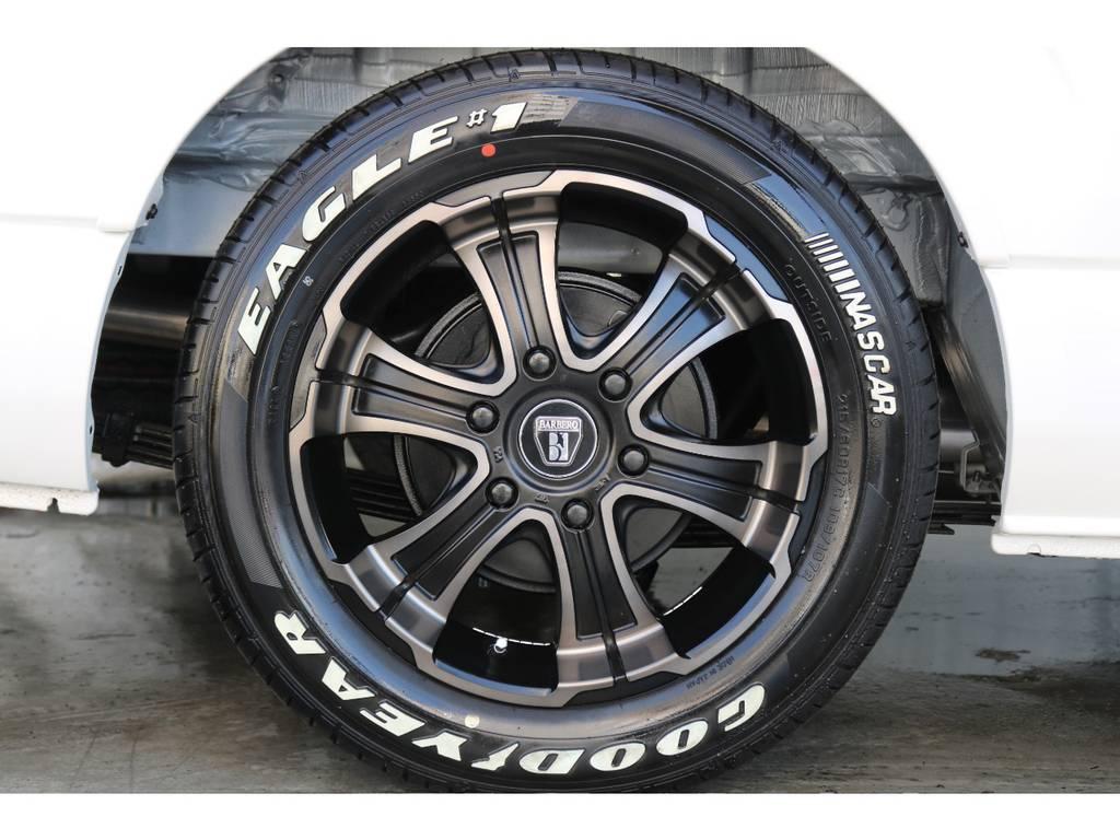 新品バルベロディープス17インチAW/グッドイヤーナスカー17インチタイヤ
