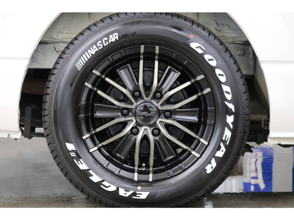 タイヤはナスカータイヤです!!