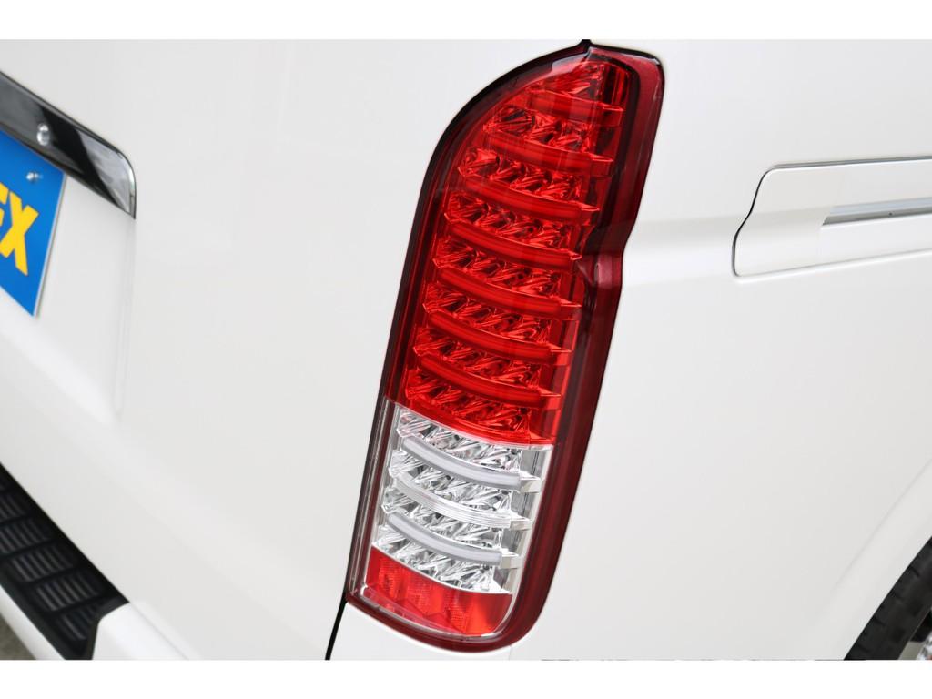 ヴァレンティ製LEDテール!全てLED点灯のため純正テールとの輝きが違います!