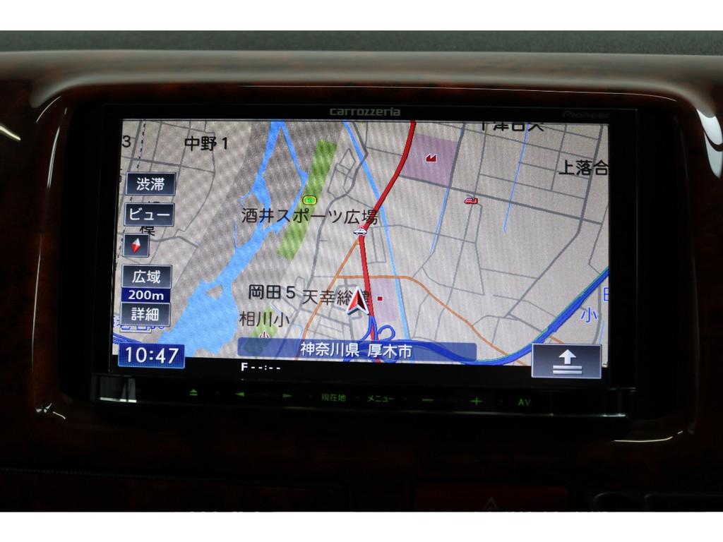 ナビマップ画面!色分けされたとても見やすいマップで移動の際も安心です!