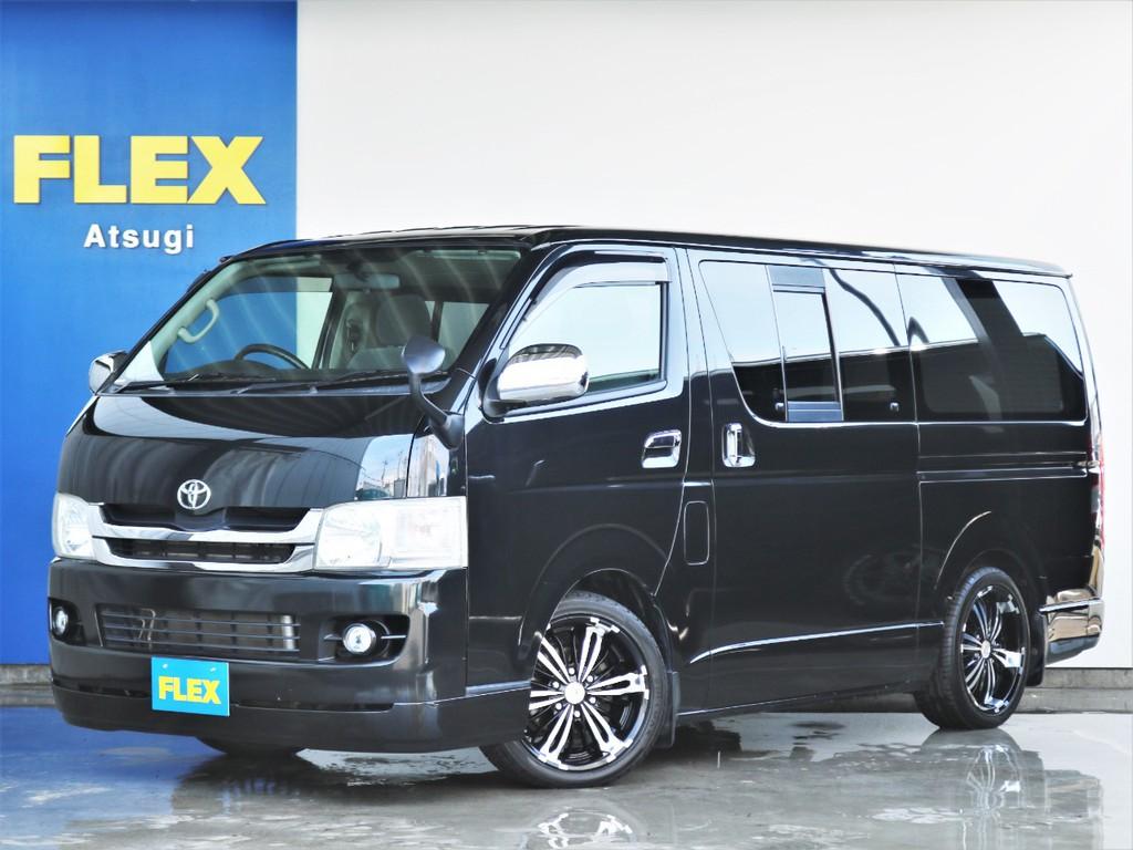 平成20年式ハイエースバン スーパーGL ガソリン 2WD ライトカスタム仕様!