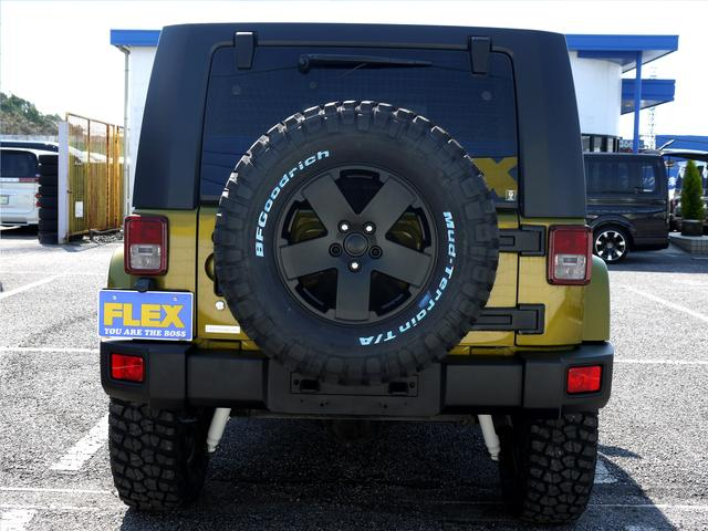 背面タイヤも揃えて統一感が有ります!