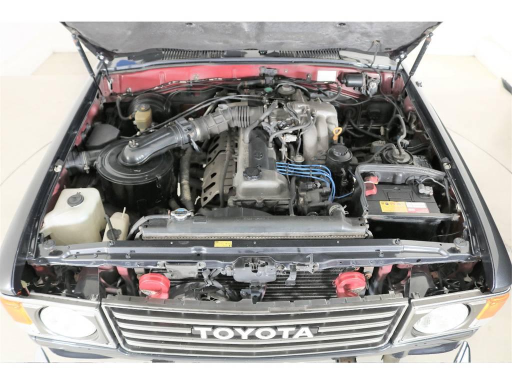 4500ccガソリンエンジン☆ | トヨタ ランドクルーザー80 4.5 VXリミテッド 4WD 丸目 60フェイス
