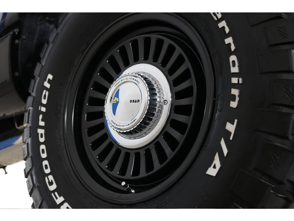 DEANカルフォルニア&BFグッドリッチマッドテレーン☆ | トヨタ ランドクルーザー80 4.5 VXリミテッド 4WD 丸目 60フェイス