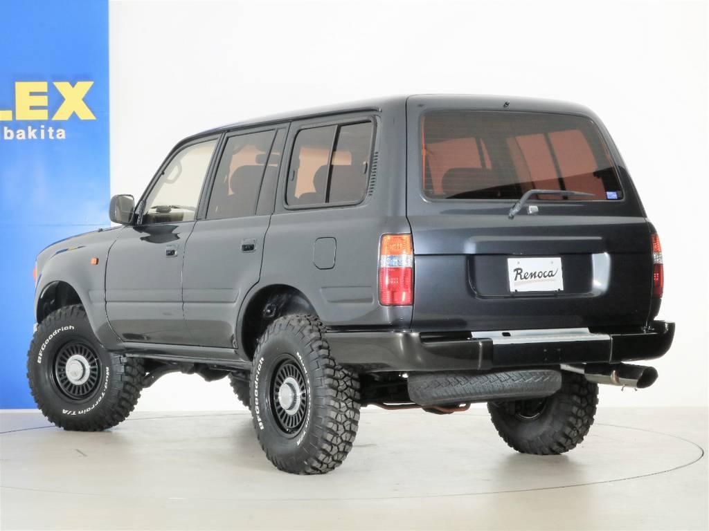 リアバンパーも塗装済み☆ | トヨタ ランドクルーザー80 4.5 VXリミテッド 4WD 丸目 60フェイス