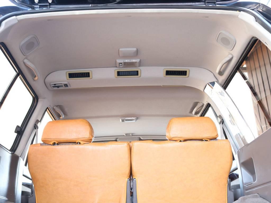 リアエアコンも装着しております☆ | トヨタ ランドクルーザー80 4.5 VXリミテッド 4WD 丸目 60フェイス