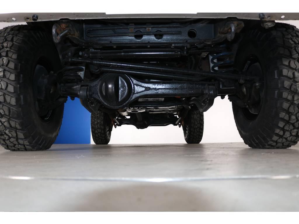 下回り防錆塗装承ります☆ | トヨタ ランドクルーザー80 4.5 VXリミテッド 4WD 丸目 60フェイス