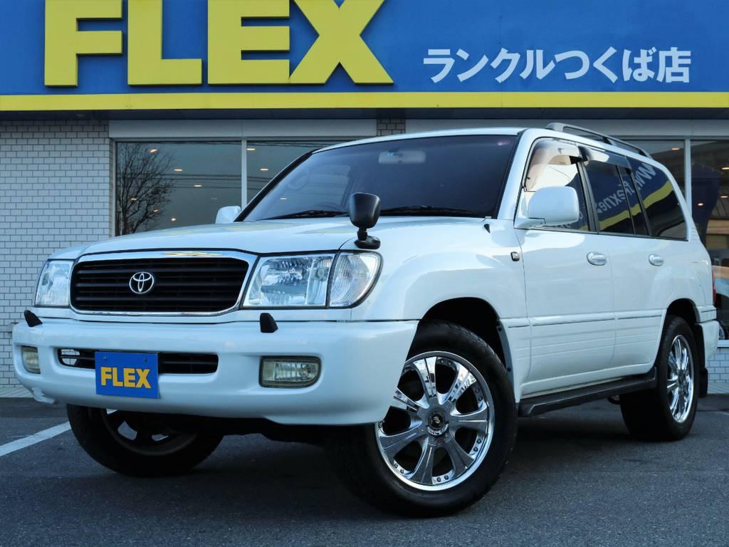 低走行ランクル100が入庫です!! | トヨタ ランドクルーザー100 4.7 VXリミテッド 4WD