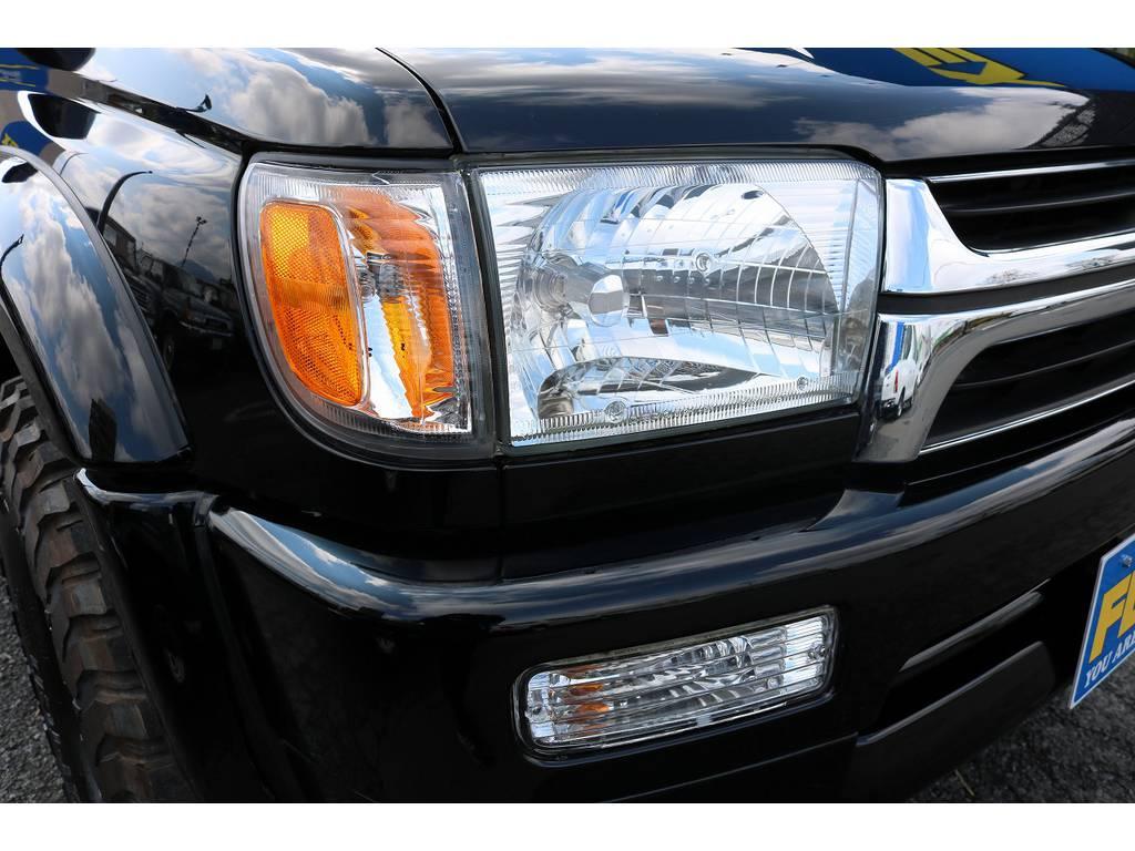各部新品クリスタルパーツに変更済みです!   トヨタ ハイラックスサーフ 3.0 SSR-X リミテッド ディーゼルターボ 4WD ディーゼルターボ リフトUP