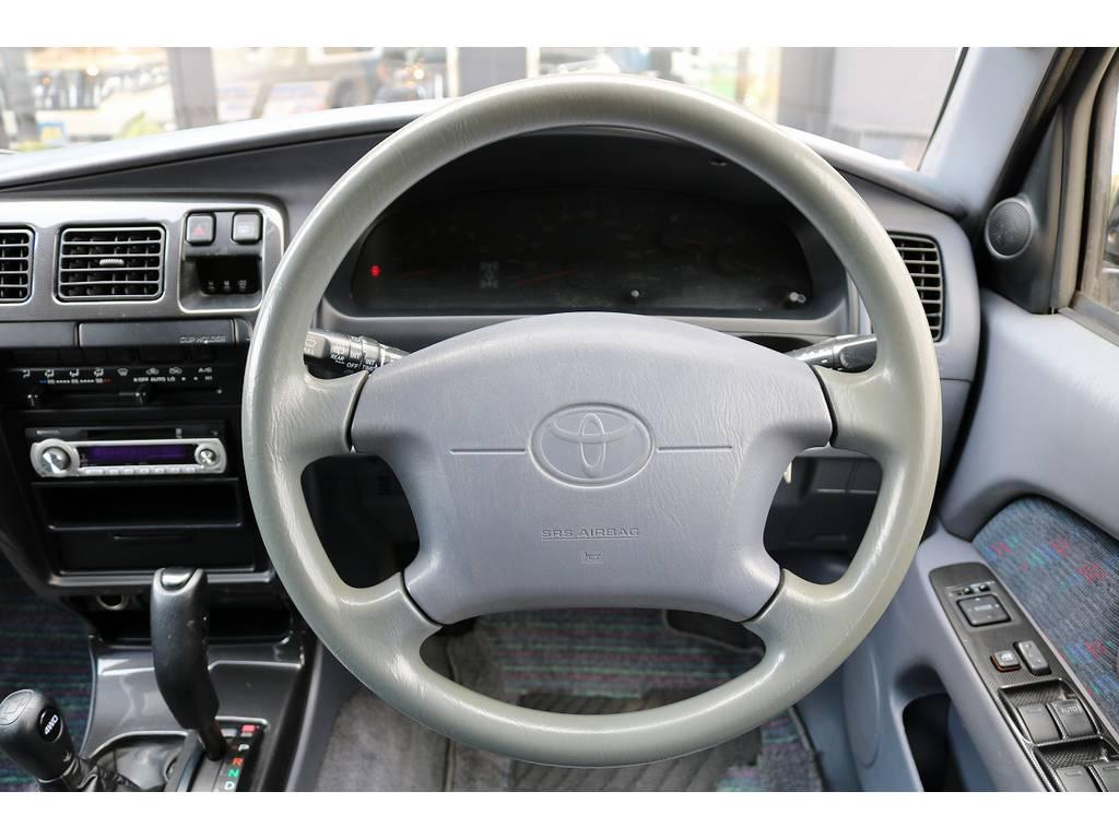 パートタイム4WDでオンロード、オフロードどちらでも大活躍間違いなし!   トヨタ ハイラックスサーフ 3.0 SSR-X リミテッド ディーゼルターボ 4WD ディーゼルターボ リフトUP