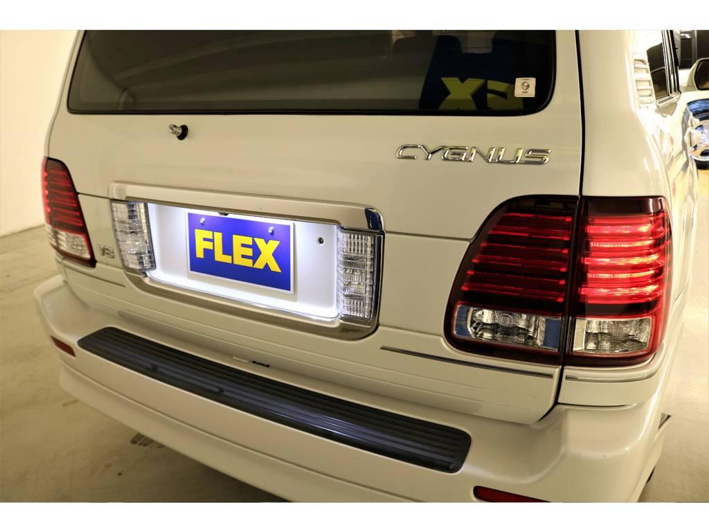 各所LEDランプに変更済み♪ | トヨタ ランドクルーザーシグナス 4.7 4WD