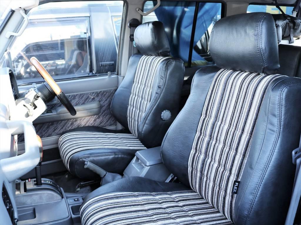 助手席の方も快適にお過ごしいただけます。 | トヨタ ランドクルーザープラド 3.0 SXワイド ディーゼルターボ 4WD 初売り特選車