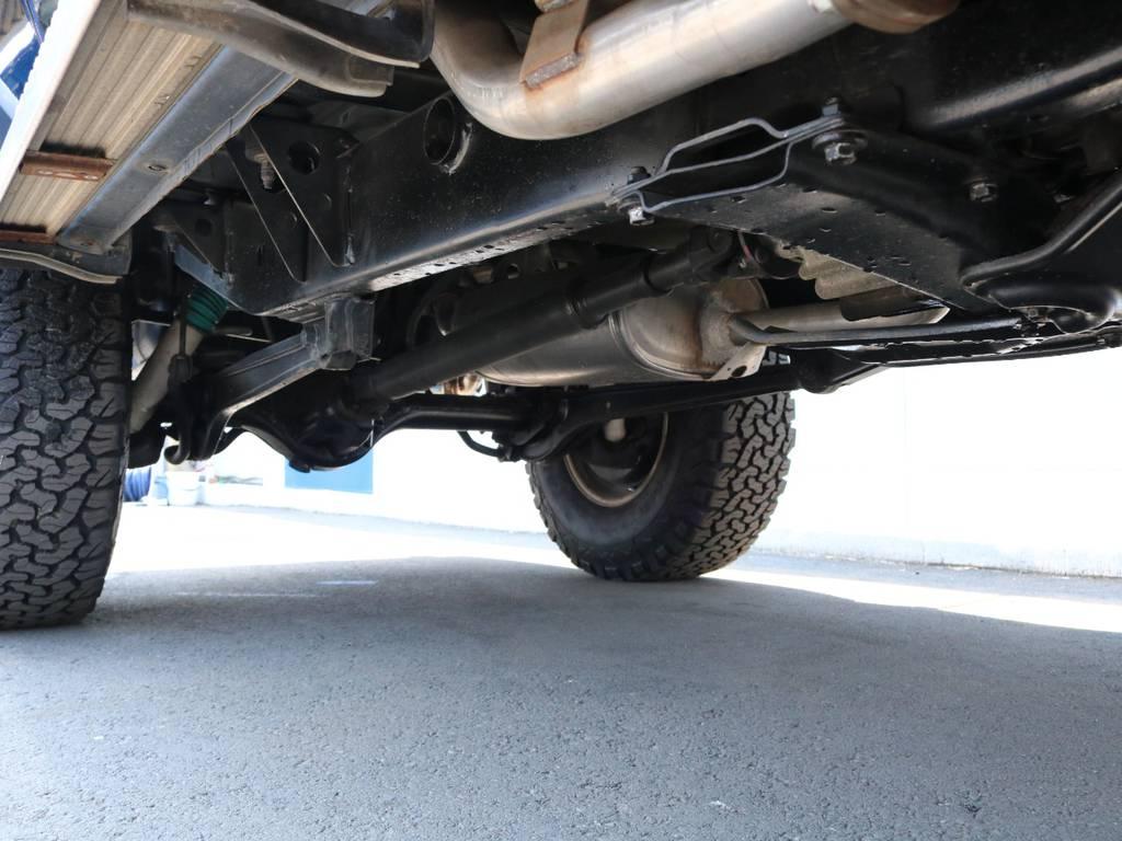 ご希望がございましたら下廻り防腐パスター仕上げもできます!お気軽にご相談ください! | トヨタ ランドクルーザープラド 3.0 SXワイド ディーゼルターボ 4WD