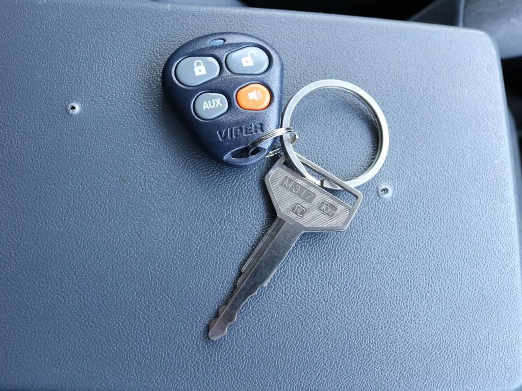 キーレスでドアの開閉も楽々! | トヨタ ランドクルーザープラド 3.0 SXワイド ディーゼルターボ 4WD