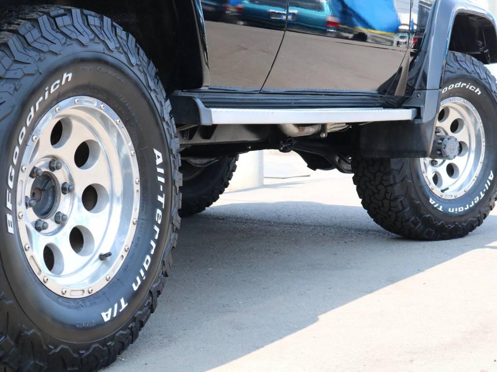 ミッキートンプソンAWにBFグッドリッチATタイヤ装着済み! | トヨタ ランドクルーザープラド 3.0 SXワイド ディーゼルターボ 4WD