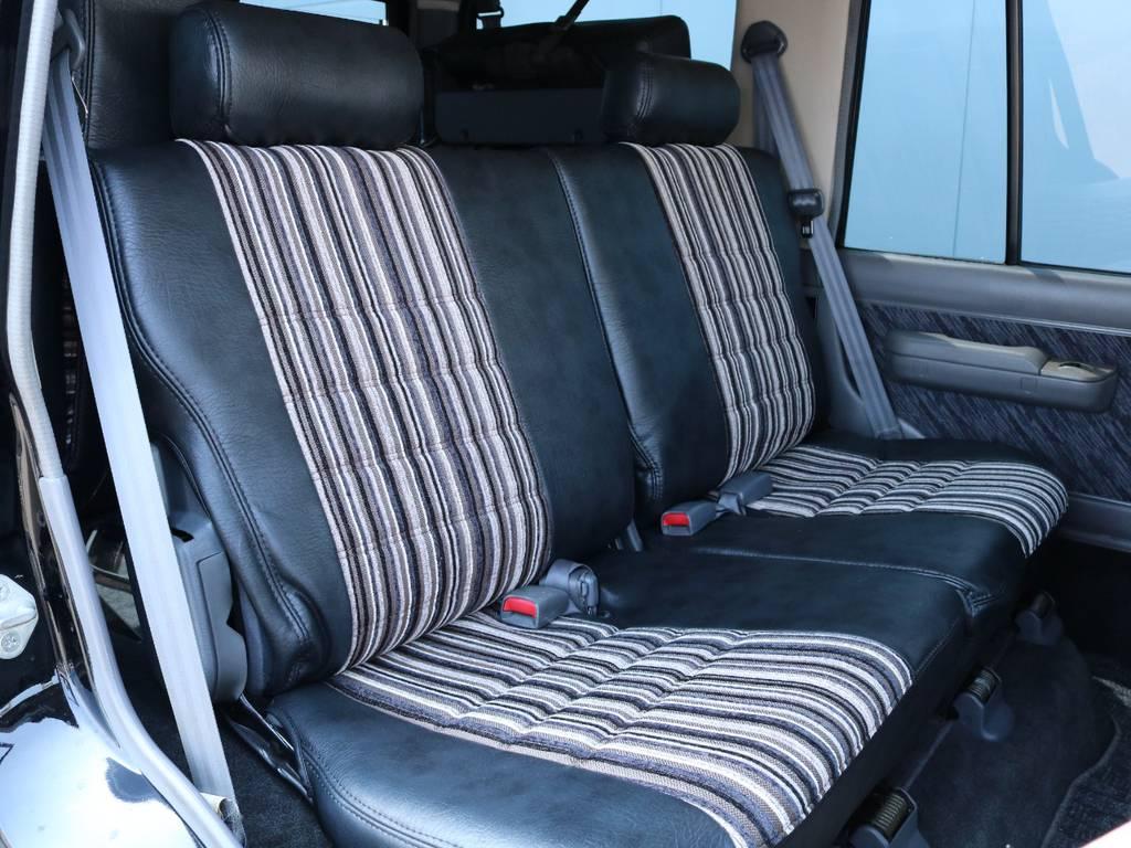 セカンドシートも広々!チャイルドシートも装着可能! | トヨタ ランドクルーザープラド 3.0 SXワイド ディーゼルターボ 4WD