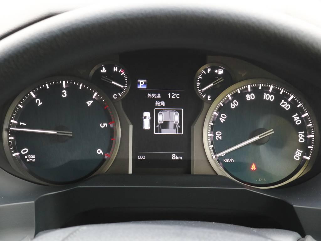 メーターも見やすく、運転のサポートをしてくれます♪ | トヨタ ランドクルーザープラド 2.8 TX ディーゼルターボ 4WD