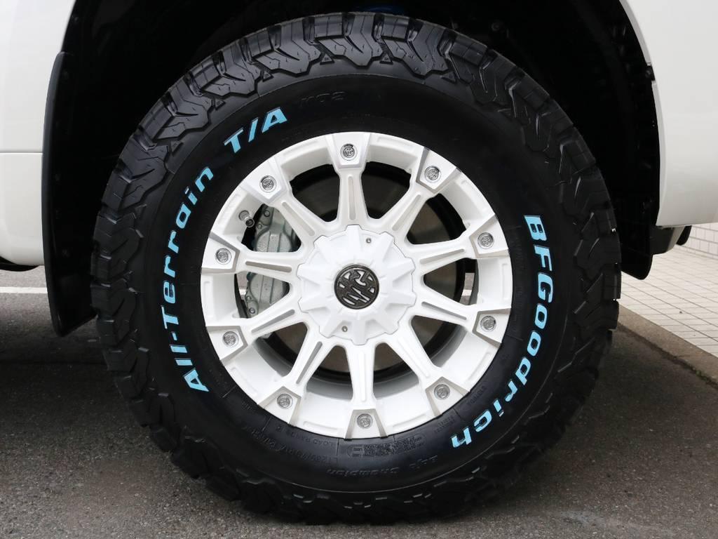 ☆MG MONSTER 17インチアルミホイール&BF Goodrich All-Terrain LT285/70R17☆ | トヨタ ランドクルーザープラド 2.8 TX ディーゼルターボ 4WD