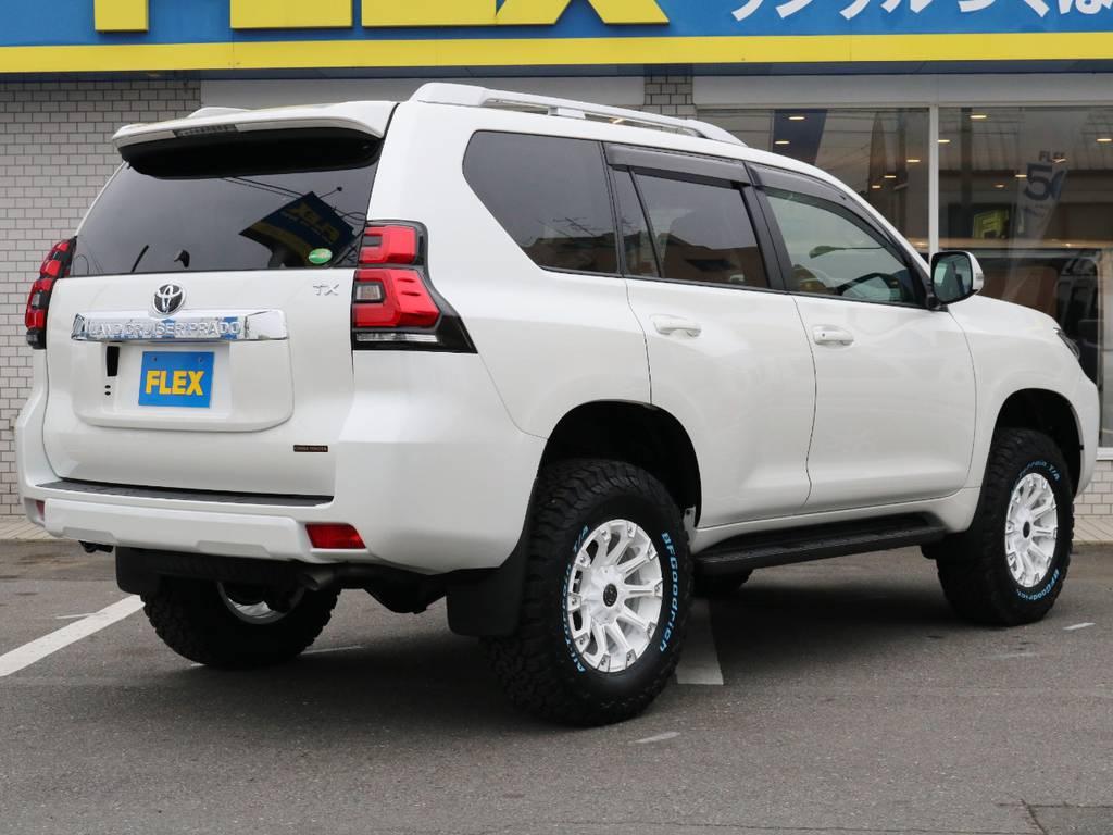 ルーフレールもついております♪ | トヨタ ランドクルーザープラド 2.8 TX ディーゼルターボ 4WD