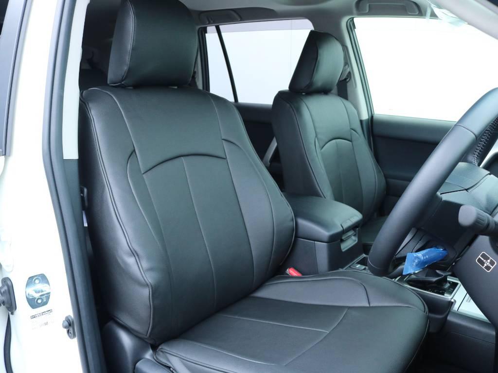 柔らかめなモケットシート!座り心地もグッド!シートカバーも新品装着済み!