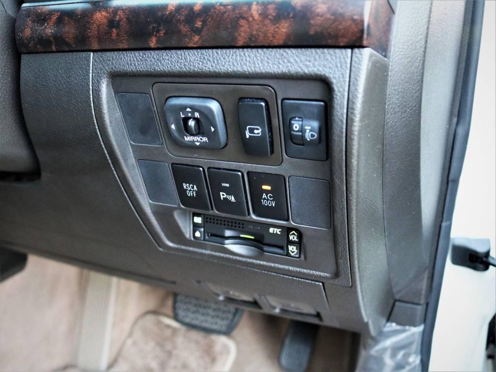 純正ETCが装備されています♪ | トヨタ ランドクルーザー200 4.7 AX Gセレクション 4WD