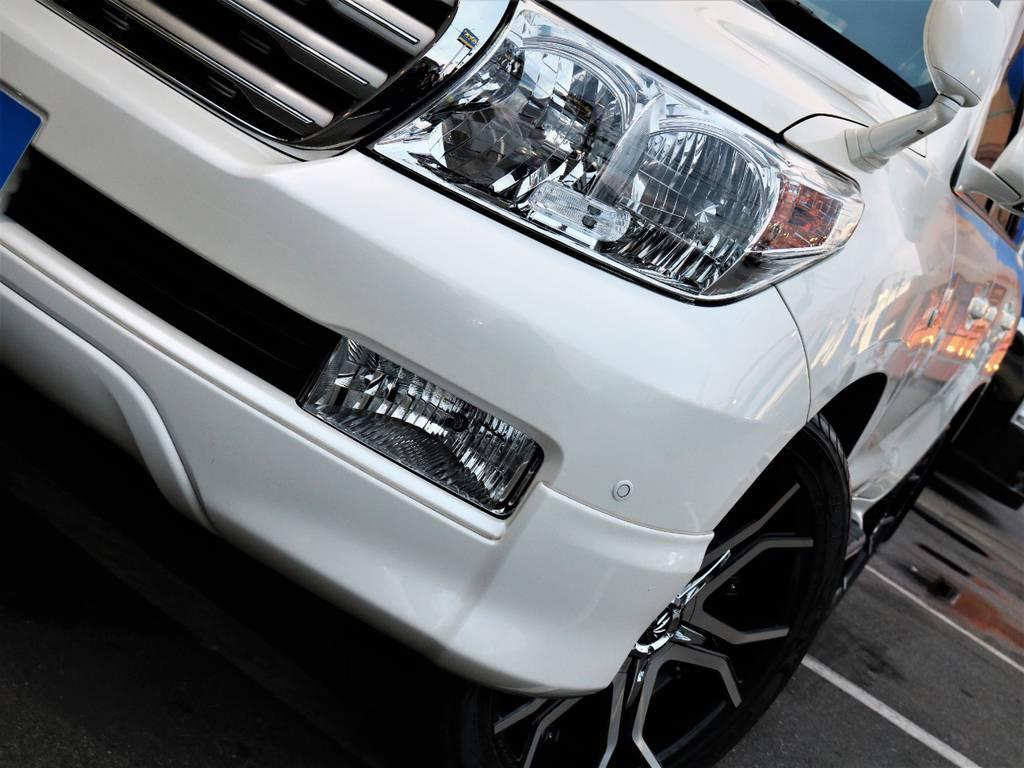 燈火類も曇り等も無く綺麗な状態です♪ | トヨタ ランドクルーザー200 4.7 AX Gセレクション 4WD