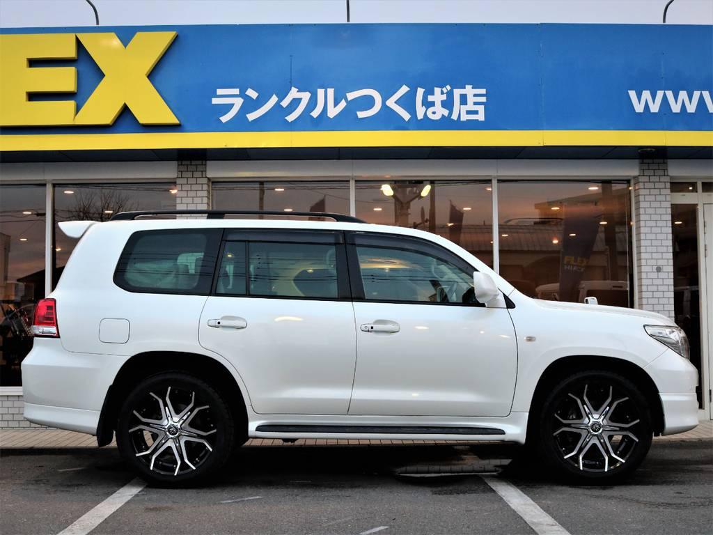 追加カスタムも承っております☆ | トヨタ ランドクルーザー200 4.7 AX Gセレクション 4WD