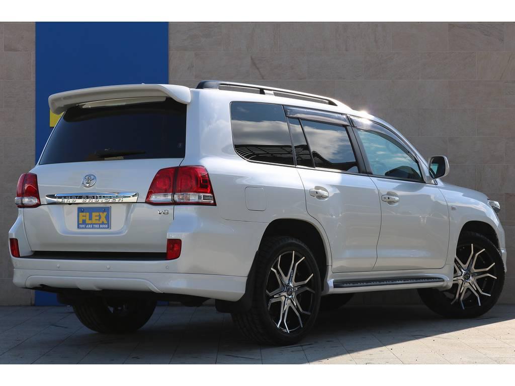 パールホワイトボディ!走行4万1千キロ台! | トヨタ ランドクルーザー200 4.7 AX Gセレクション 4WD