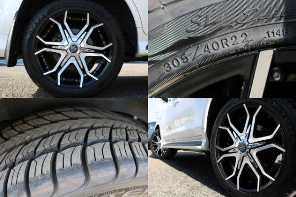 新品BULLHORN22インチAW! | トヨタ ランドクルーザー200 4.7 AX Gセレクション 4WD