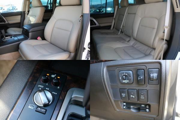 ビルトインETCにシートヒーター完備! | トヨタ ランドクルーザー200 4.7 AX Gセレクション 4WD