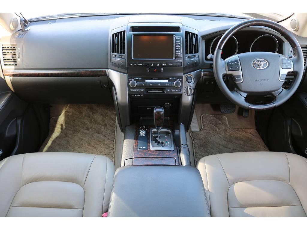 インパネ廻り! | トヨタ ランドクルーザー200 4.7 AX Gセレクション 4WD