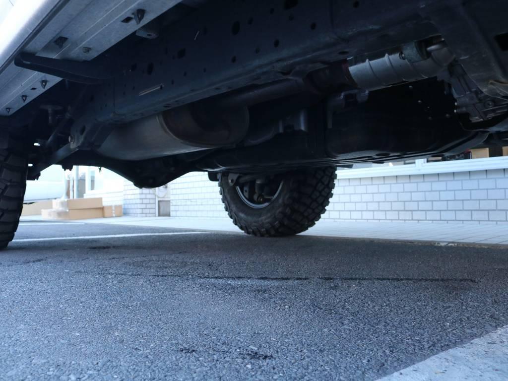 ご希望がございましたら下廻り防腐パスター仕上げもできます!お気軽にご相談ください!   トヨタ ランドクルーザープラド 2.7 TX 4WD
