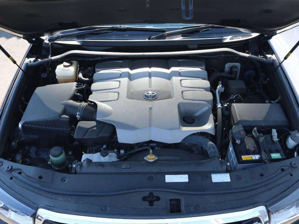 4.6Lエンジン搭載でパワフルな走行を実現します!   トヨタ ランドクルーザー200 4.6 AX Gセレクション 4WD