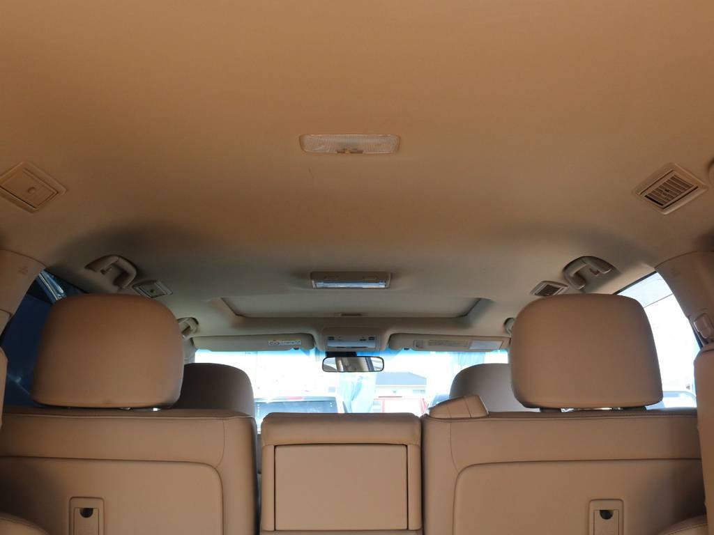 広々した天井!大きな傷も無くグッドコンディション!   トヨタ ランドクルーザー200 4.6 AX Gセレクション 4WD