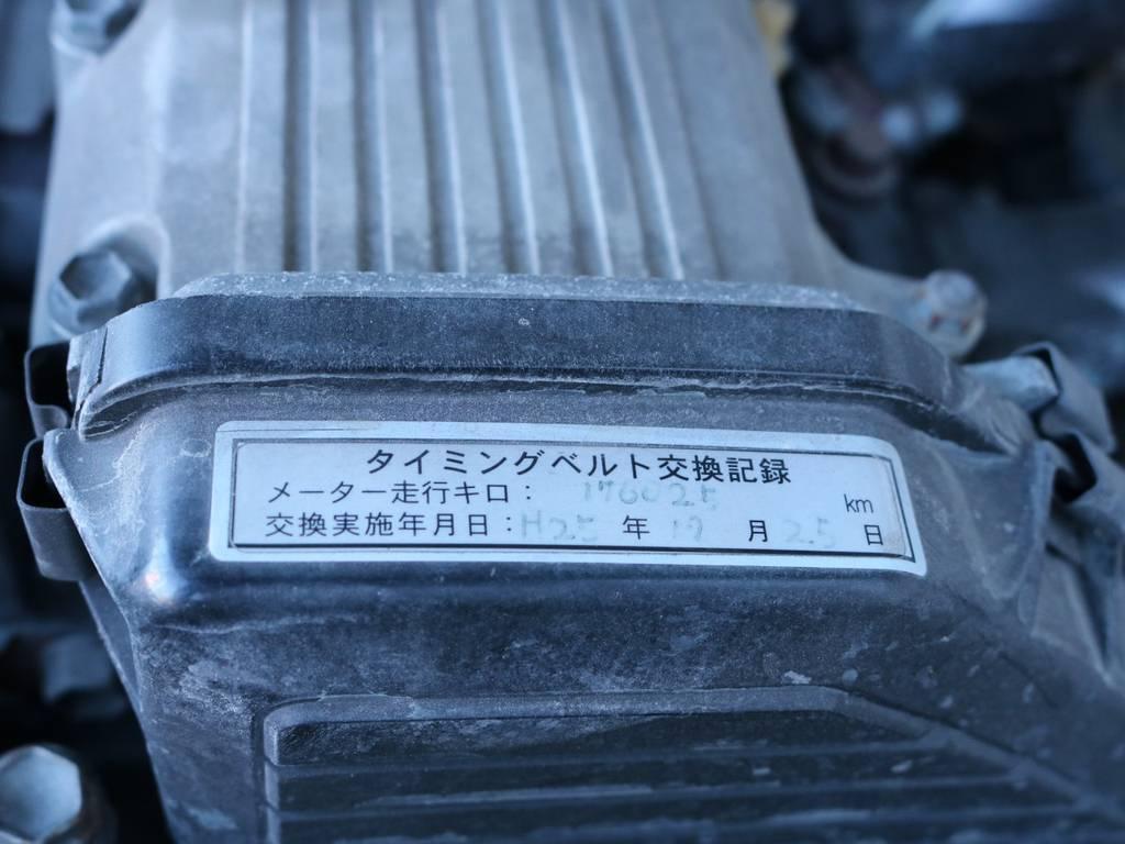 タイミングベルトも交換済み! | トヨタ ランドクルーザー70 4.2 ZX FRPトップ ディーゼル 4WD