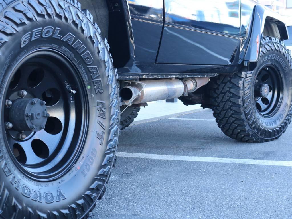 ジムラインAWにジオランダーMTを新品装着! | トヨタ ランドクルーザー70 4.2 ZX FRPトップ ディーゼル 4WD