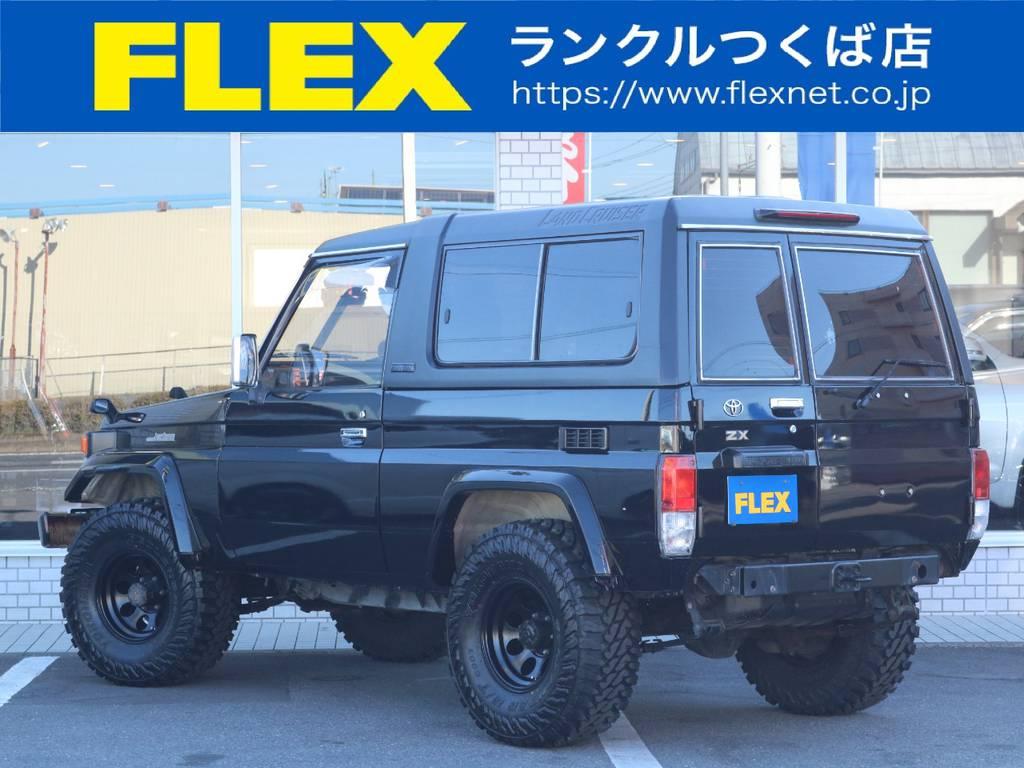 FRPトップもブラック塗装済み! | トヨタ ランドクルーザー70 4.2 ZX FRPトップ ディーゼル 4WD