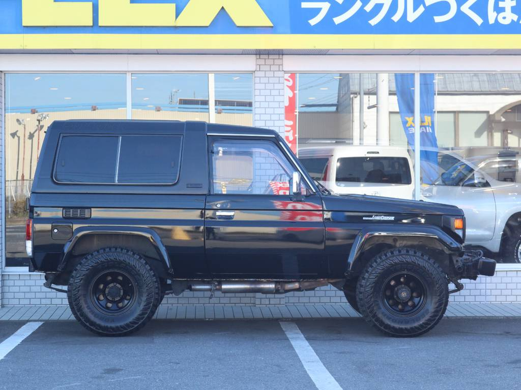 フレックスは全国共有在庫ですので専門知識でお客様にぴったりな1台をご提案致します!つくば店へのご来店お待ちしております! | トヨタ ランドクルーザー70 4.2 ZX FRPトップ ディーゼル 4WD